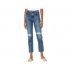 Woman's J Brand Jules High-Rise Straight in Finesse Destruct Finesse Destruct EASXB667