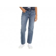 Woman's KUT from the Kloth Kelsey High-Rise Ankle Flare Inset Leg in Mastermind Mastermind Wash EHMIC813