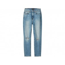 Women 7 For All Mankind The High-Waist Ankle Skinny in Rose Avenue Destroyed Rose Avenue Destroyed HEAPQ543