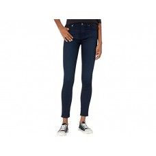 Women 7 For All Mankind High-Waist Skinny in Blue/Black River Thames Blue/Black River Thames LPNIN840