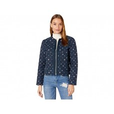 Women Blank NYC Collarless Floral Quilted Jacket Flower Girl JLMHD906