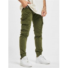 Alpha Industries Men Cargo Utility in olive cotton 2% elastane For Sale CCOAW129