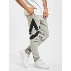 Alpha Industries Men Sweat Pant Side Logo in grey cotton 20% polyester Fashion HGQYM192