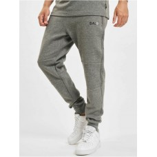 BALR Men Sweat Pant Q-Series Classic in grey polyester Cut Off MGOCQ894