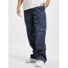 Dickies Men Chino D/Knee in blue polyester 35% cotton Discount PMPWO712