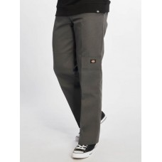 Dickies Men Chino Double Knee Work in grey polyester 35% cotton Cheap ZMMKQ375