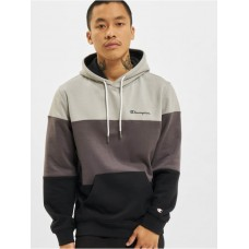 Champion Men Hoodie Colorblock in black cotton 27% polyester Hot Sale HDSXY687