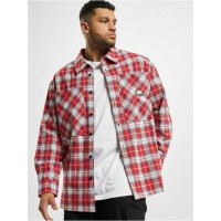 Southpole Men Shirt Checked Woven in red On Line BKVGF463