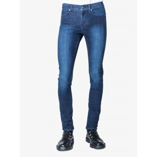 Cheap Monday Men Skinny Jeans Tight in blue cotton; 13% viscose; 10% polyester; 1% spandex Designer IFGUF438