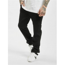 Brandit Men Straight Fit Jeans Mason Unwashed in black cotton 23% polyester 2% spandex On Sale DBXTB976