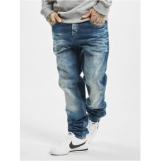 Cipo & Baxx Men Straight Fit Jeans Stone Washed in blue Sale XJDQQ290