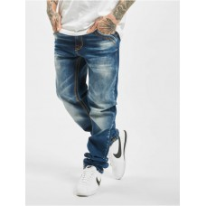 Cipo & Baxx Men Straight Fit Jeans Stone Washed in blue Top Sale YIHQA916